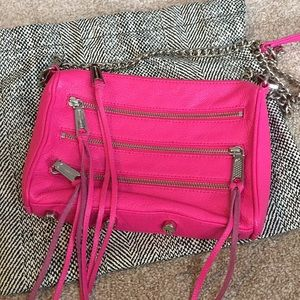 Hot Pink Rebecca Minkoff Crossbody